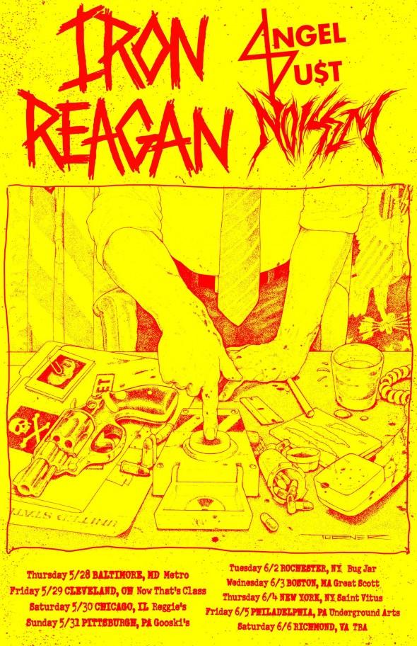 iron reagan noisem tour 2015