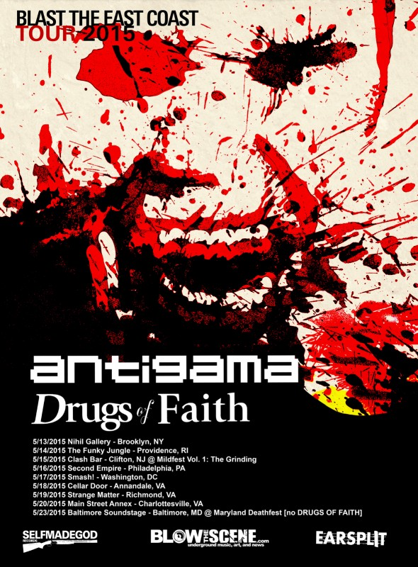 antigama drugs of faith us tour