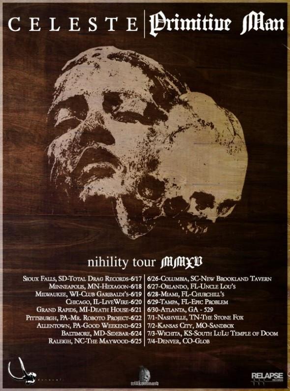 Primitve Man and Celeste Tour 2015
