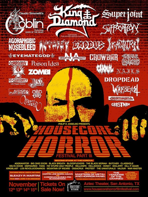 housecore horror fest III