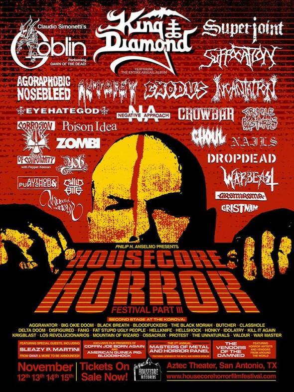 housecore horror fest III