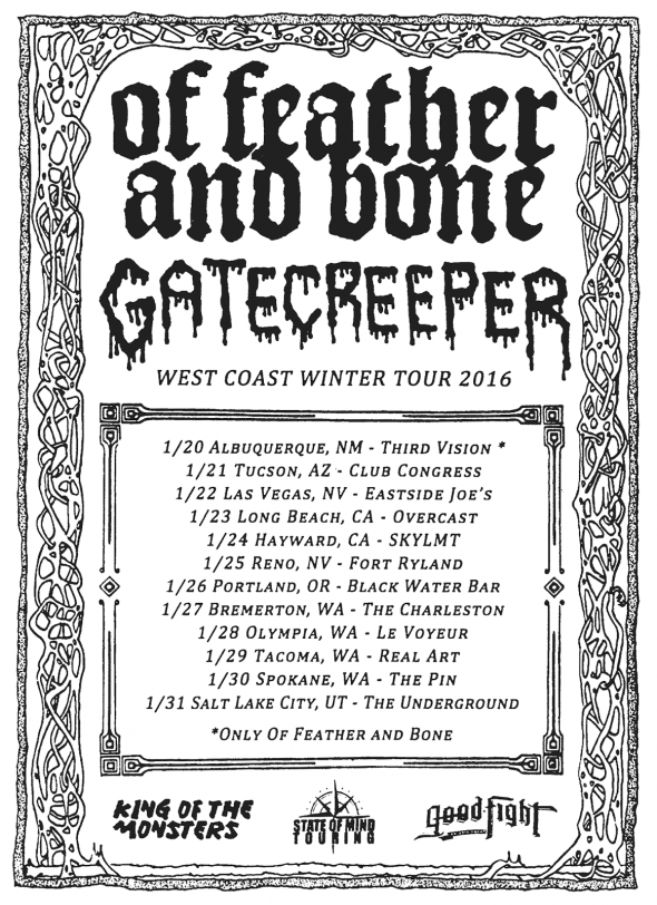 OFAB tour with Gatecreeper
