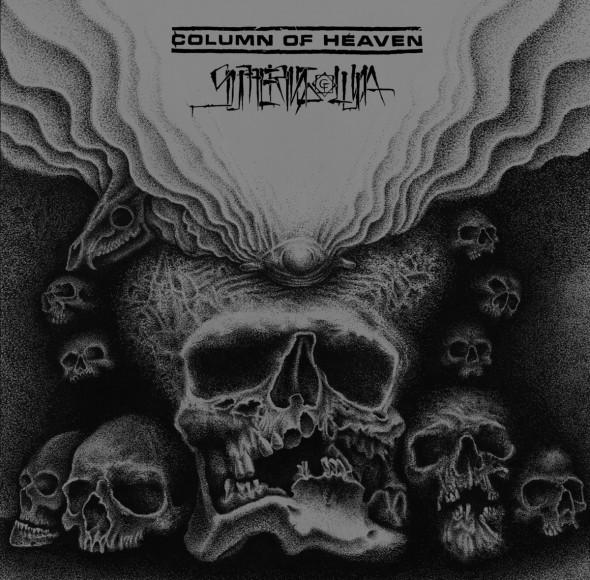 column of heaven split cover