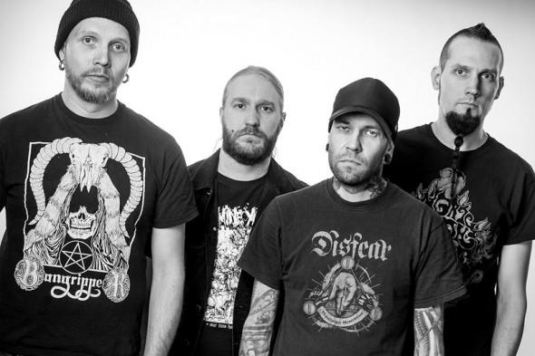Rotten Sound band 2016
