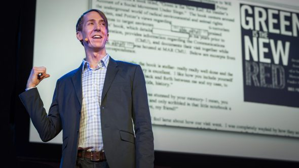 Will Potter on TED Talks