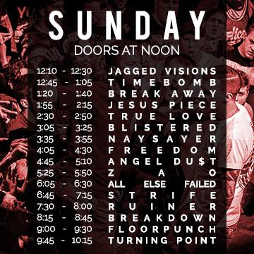 this is hardcore sunday