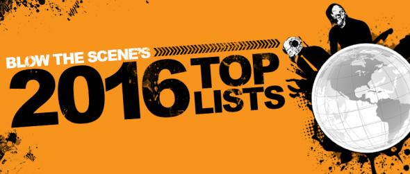2016 top lists