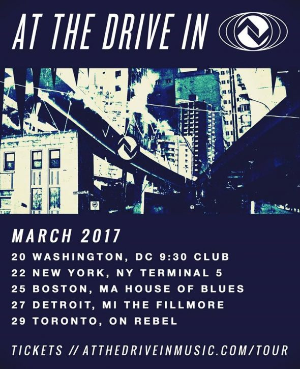 at the drive in 2017 march tour