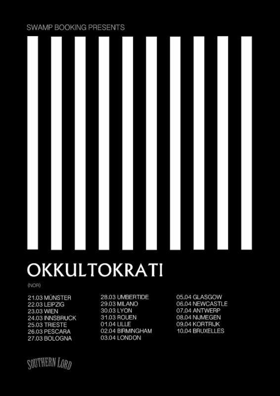 Okkultokrati 2017 tour