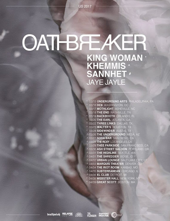 oathbreaker US Tour