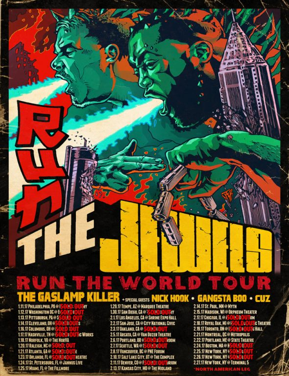 run the jewels worls tour 2017