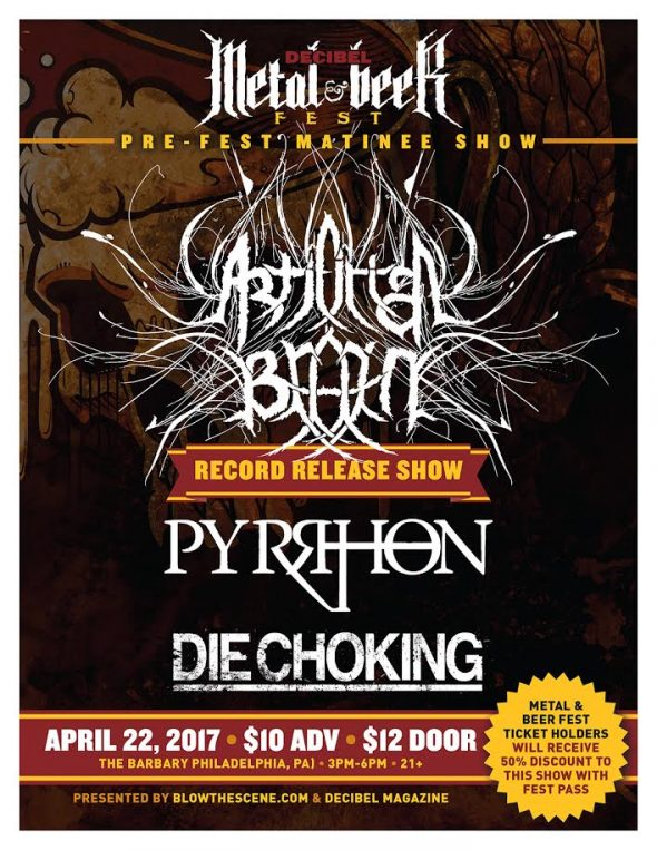 Decibel April 22 Pre Fest 2017