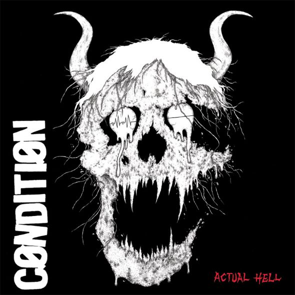 condition actual hell cover