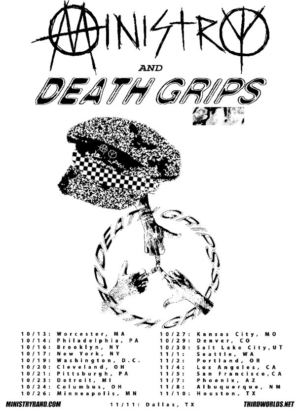 ministry death grips tour 2017