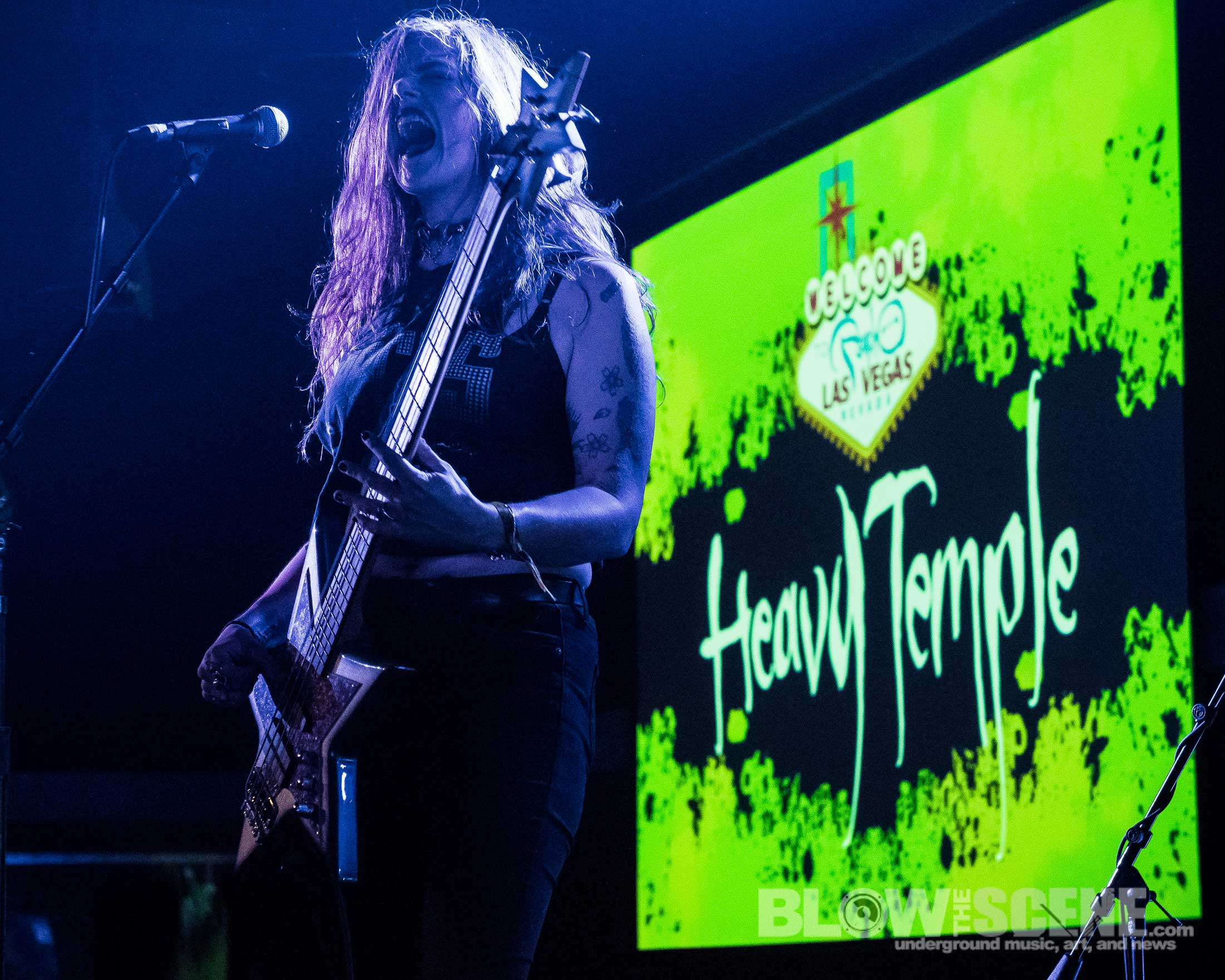 Heavy Temple live at Psycho Las Vegas 2017 by Dante Torrieri