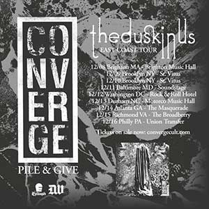 converge east coast tour