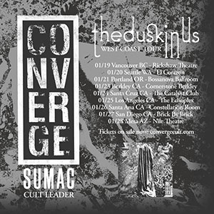 converge west coast tour