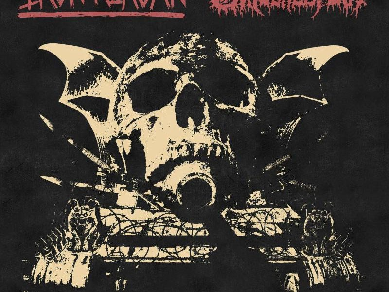iron reagan, gatecreeper, split LP