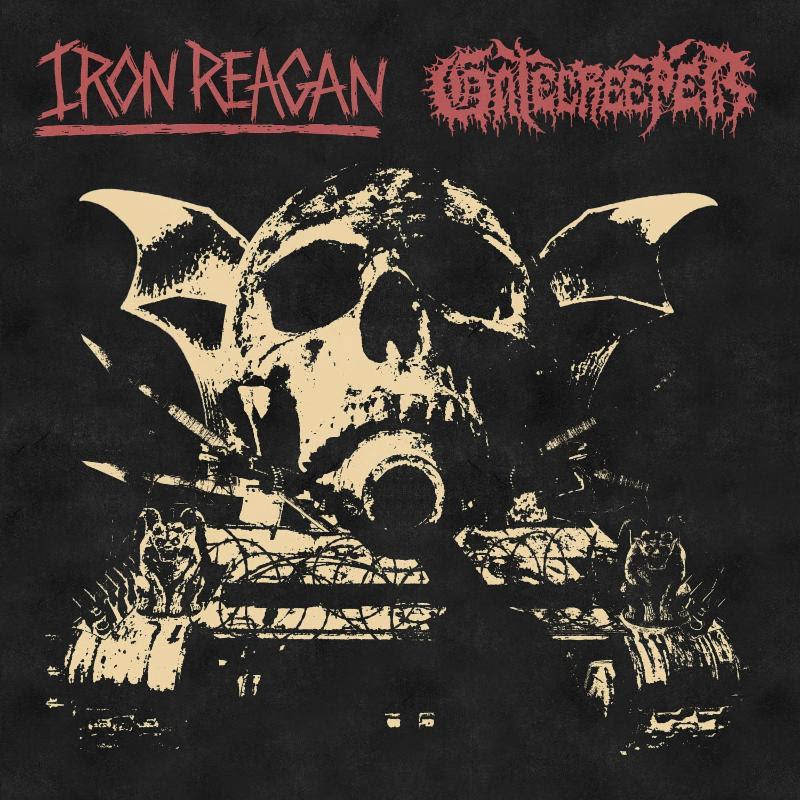 iron reagan, gatecreeper, split LP
