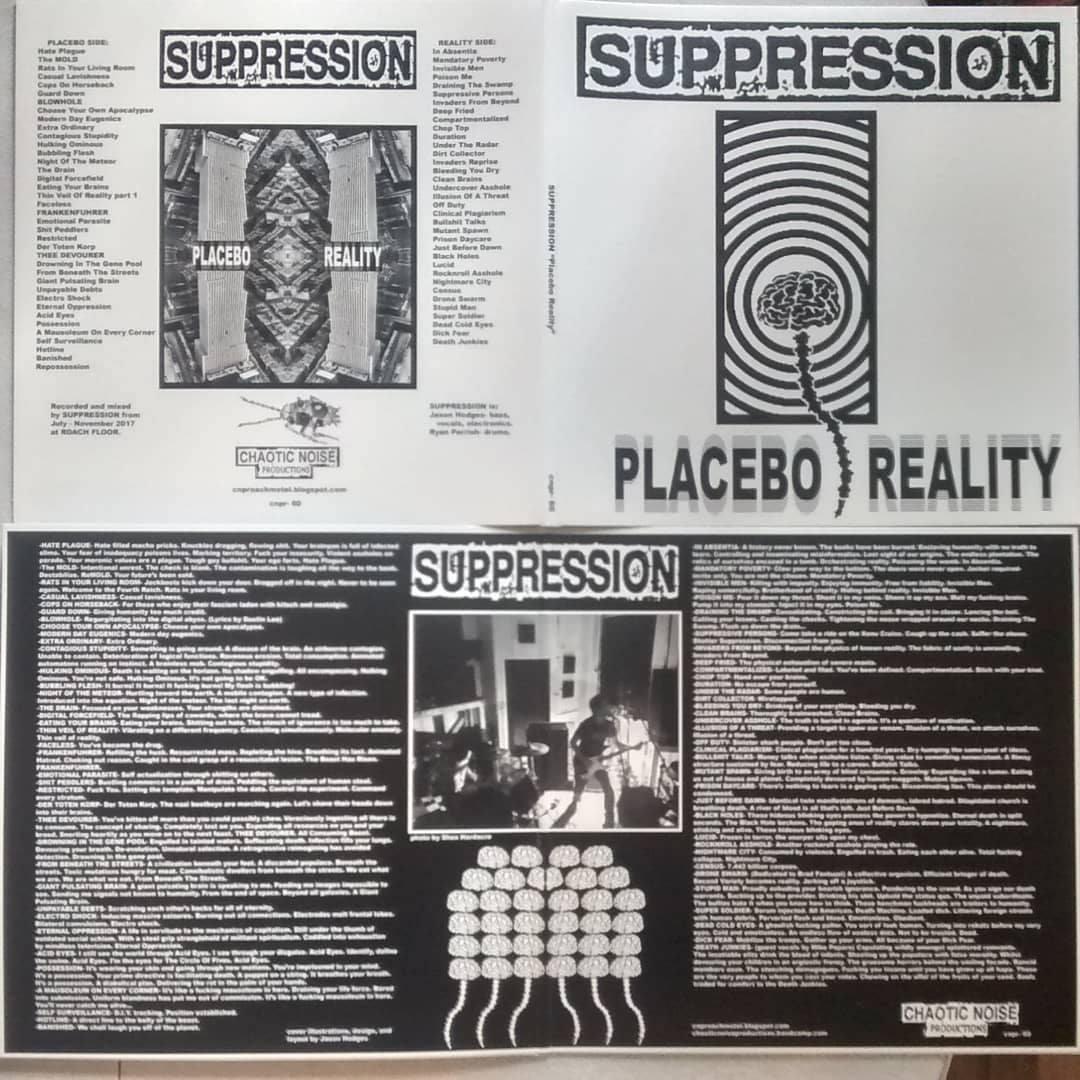 suppression placebo reality cover