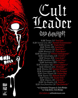 Cult Leader Us Tour 2018