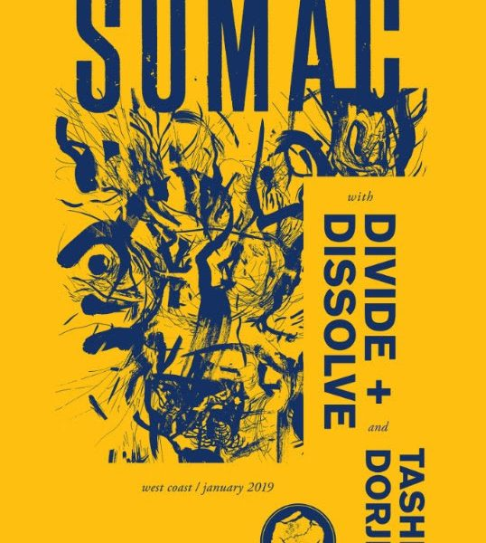 sumac january 2019 us tour poster